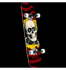 Powell Peralta - Ripper One Off Burgundy Complete Skateboard
