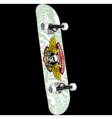 Powell Peralta - Mini Winged Ripper White Complete Skateboard