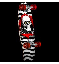 Powell Peralta - Micro Mini Ripper White Complete Skateboard