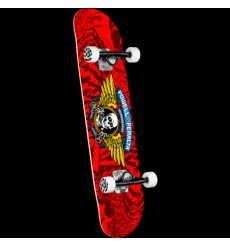 Powell Peralta - Winged Ripper Red Complete Skateboard
