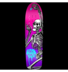 Powell Peralta - Funshape Hippie Skeleton 3 Skateboard Deck Pink/Purple - 8.6 x 31.66
