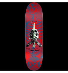 Powell Peralta - Skull and Sword Skateboard Deck Red - Shape 246 - 9.05 x 32.095