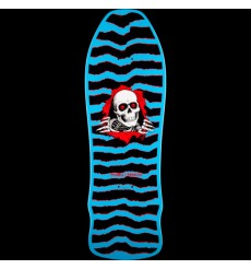 Powell Peralta  - Geegah Ripper Skateboard Deck Blue- 9.75 x 30